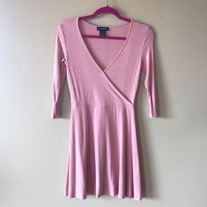 Light pink quarter sleeve Dress